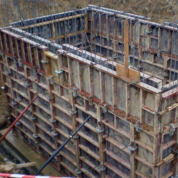 Куб бетона заливка шпатлевание бетона